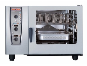 RATIONAL CombiMaster Plus 6x GN 2/1: elektrický